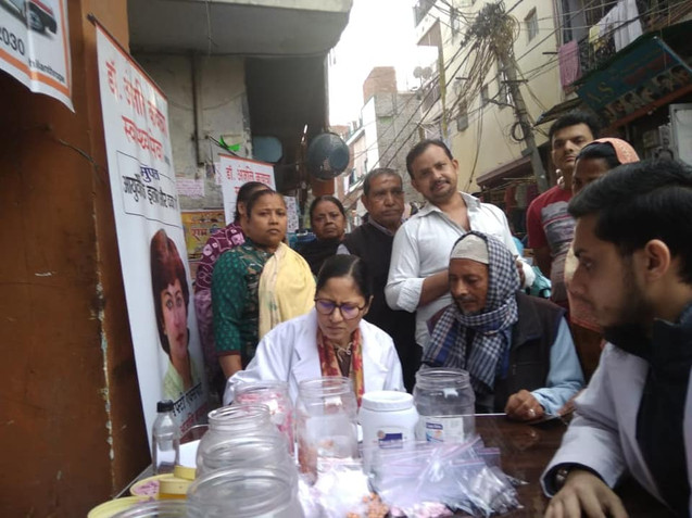Free Ayurvedic medicine distribution drive