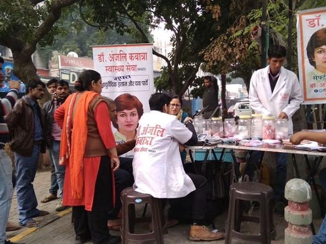 Health Check-Up Camp, New Delhi