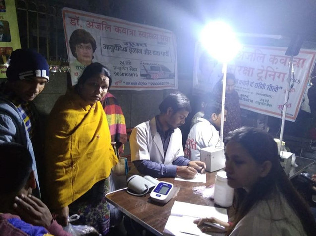 Nishulk Swasthya Chikitsa Shivir