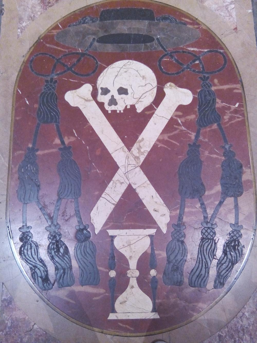 pierre tombale cathédrale de Palma de Majorque