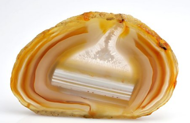 agate orange et jaune