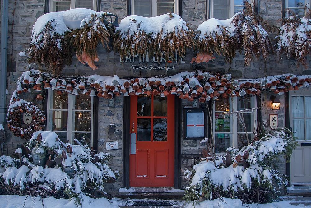 Une vieille maison au Québec