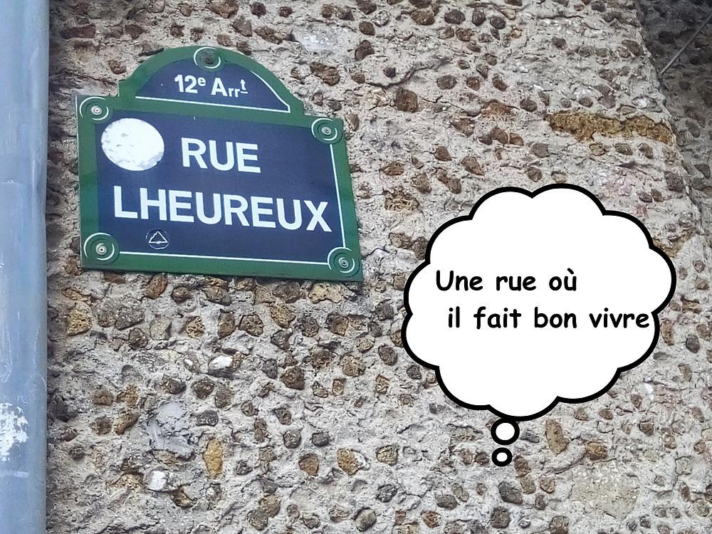 Rue LHeureux du 12ème arrondissemnt de Paris
