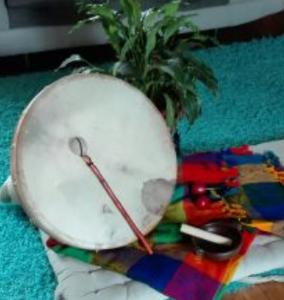 Tambour de soins chamaniques