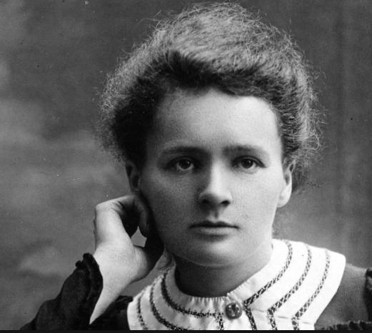 portrait de Marie Curie jeune