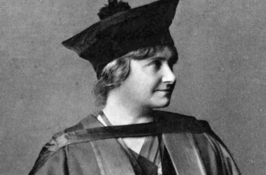 Maria Montessori étudiante diplômée
