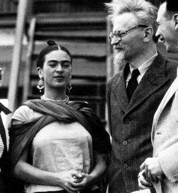 Frida et Léon Trotsky