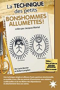 """Couverture du livres """"La technique des petits bonshommes allumettes par Lucie Bernier et Robert Lenghan"""