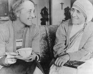 Elisabeth Kübler-Ross et mère Teresa