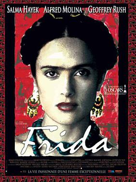 Affiche du film Frida tourné en 2002