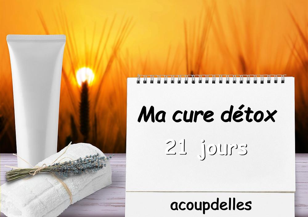 calendrier wellness cure détox 21 jours avec acoupdelles