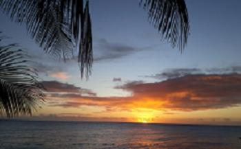 Coucher de soleil Fakarava nord