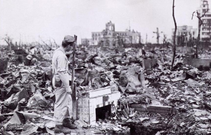 Pika-don, une ville détruite par la bombe