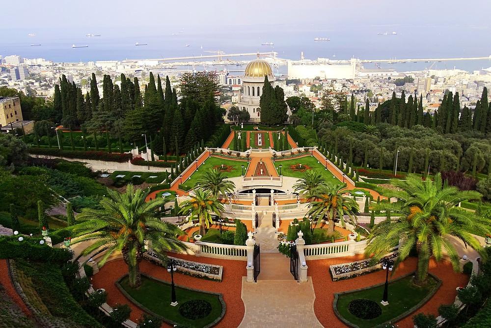 Ville de Haïfa en Israël