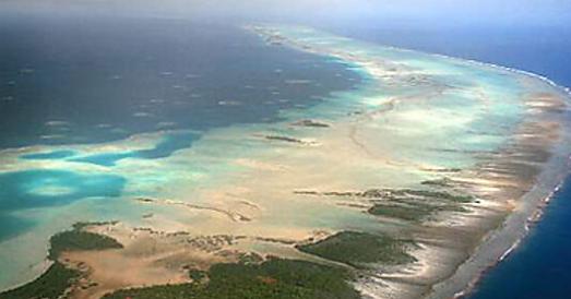 Atoll de Rangiroa, détail