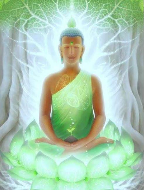 Bouddha vert