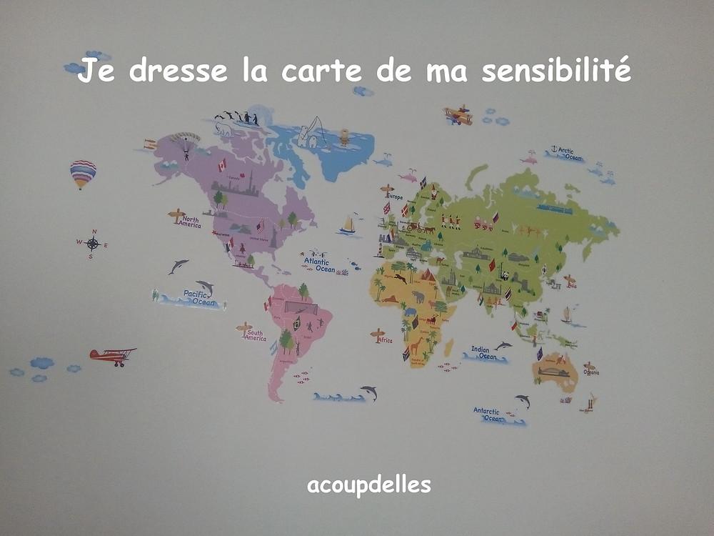 carte du monde en couleurs