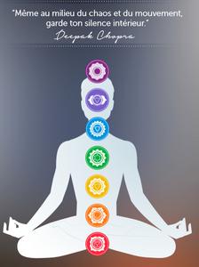 Les sept chakras d'après Deepak Chopra