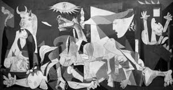 Tableau peint par Pablo Picasso : Guernica