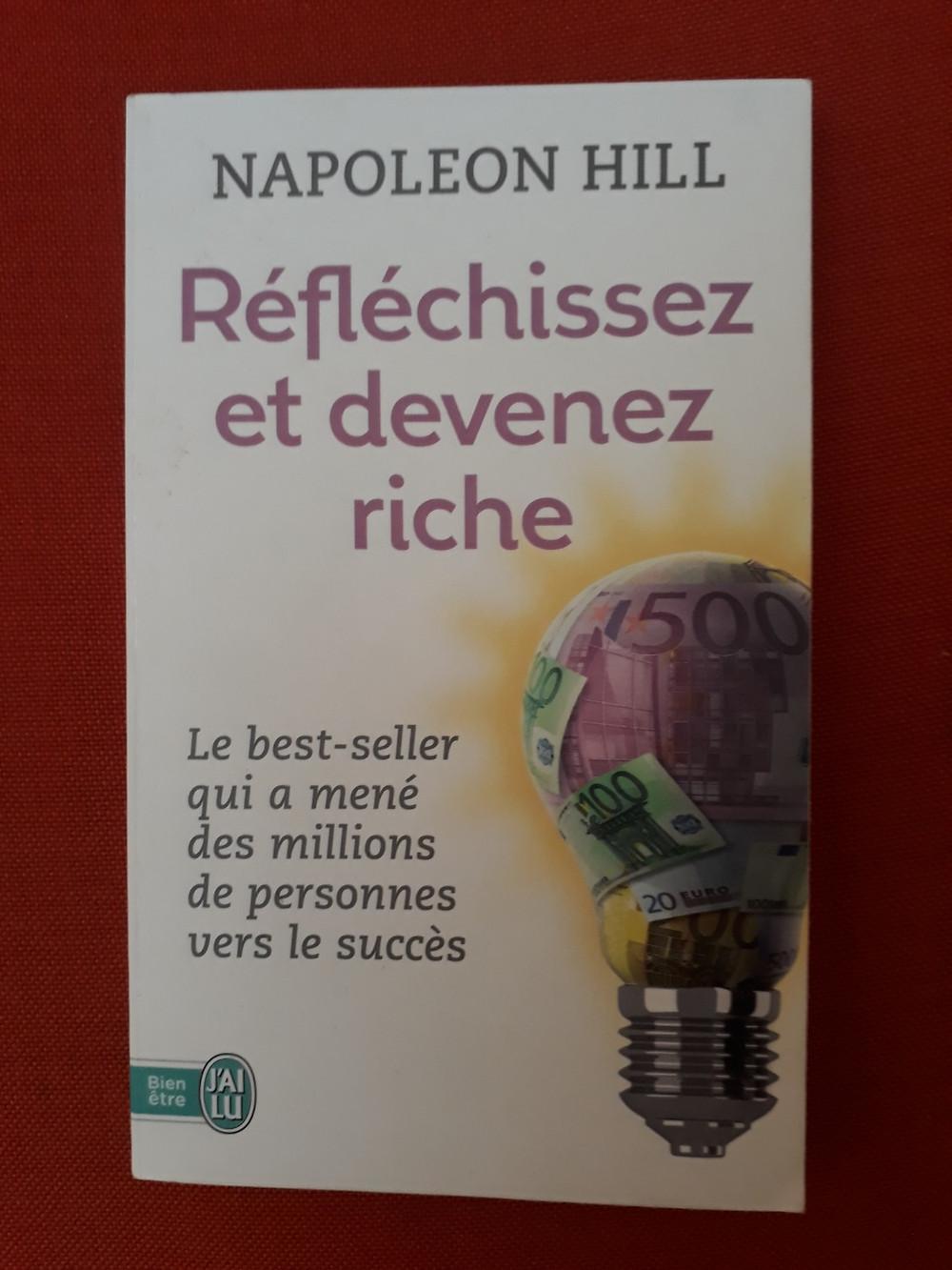 Couverture du livre de Napoleonn Hill Réfléchissez et devenez riche