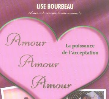 couverture du livre de Lise Bourbeau, La puissance de l'acceptation