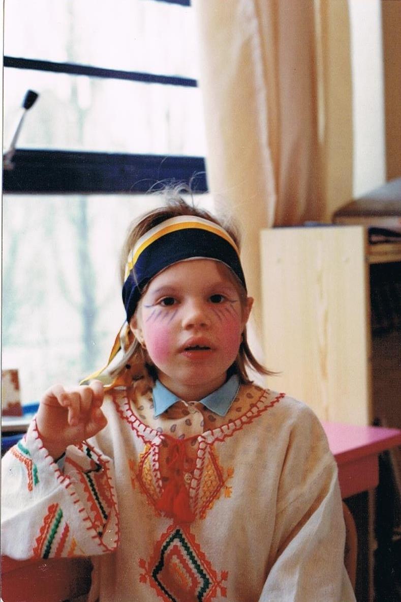 Maureen à cinq ans