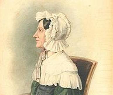Portrait de Nanette Streicher couleurs pastel