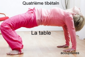 le quatrième tibétain: la table