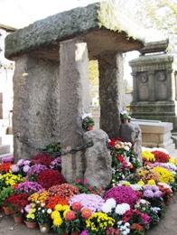 Tombe de Allan Kardec au cimetière du Père Lachaise