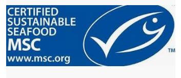 Logo MSC pour une pêche durable