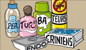 dessins humoristiques pour les perturbateurs endocriniens