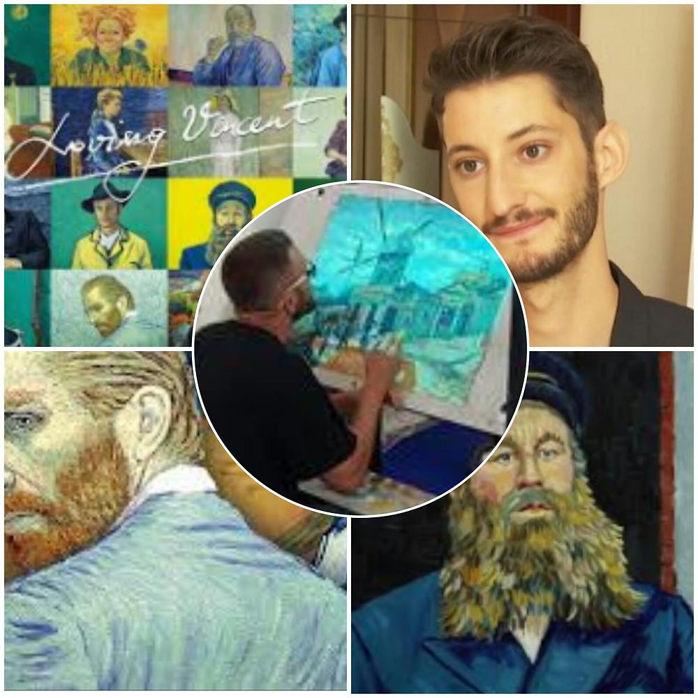 """collage sur le film """"La passion Van Gogh"""" par acoupdelles mon bien-être au quotidien"""