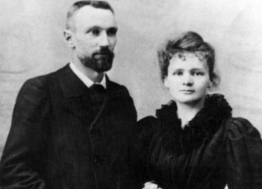 Le couple Pierre et Marie Curie