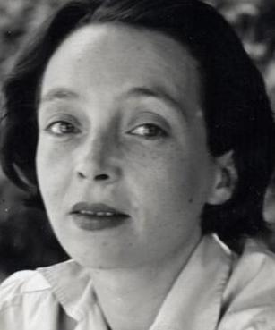 portrait de Marguerite Duras jeune