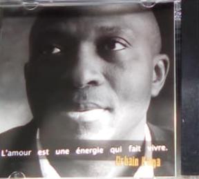 Portrait du chanteur Urbain Kinga
