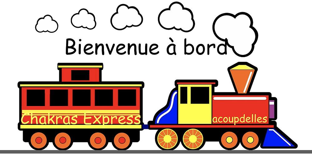 Train Chakras Express, locomotive acoupdelles