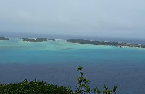 Bout d'atoll des Tuamotu