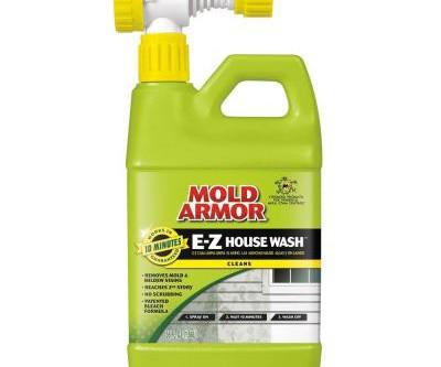 Get rid of mold on siding!