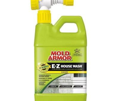 Get rid of mold and algae on siding!