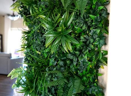 Green walls!