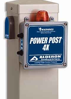 Power Post for Sewage Ejectors
