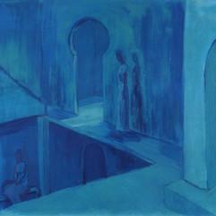 Interior con sombras