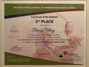 FCC Windsor, 2nd Place in 2019 Carrousel of the Nations