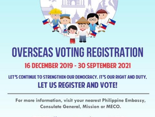 Overseas Voting Registration
