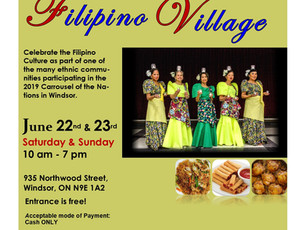 2019 Carrousel of Nations - Filipino Village