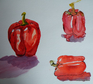 'Study of Peppers'