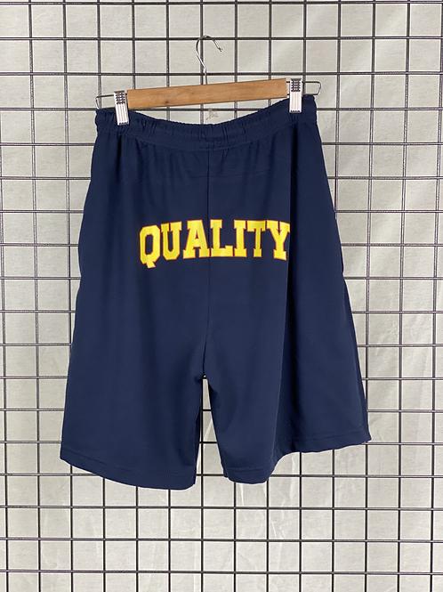 Pantalón Corto Logo QUALITY