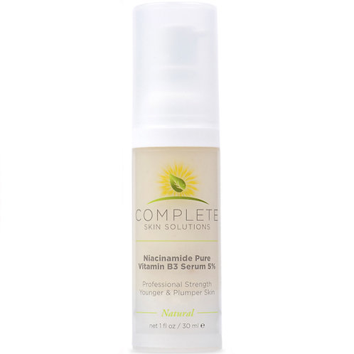 Complete Skin Solutions Niacinamide Pure Vitamin B3 Serum 5% PRO SIZE (1.69 oz)