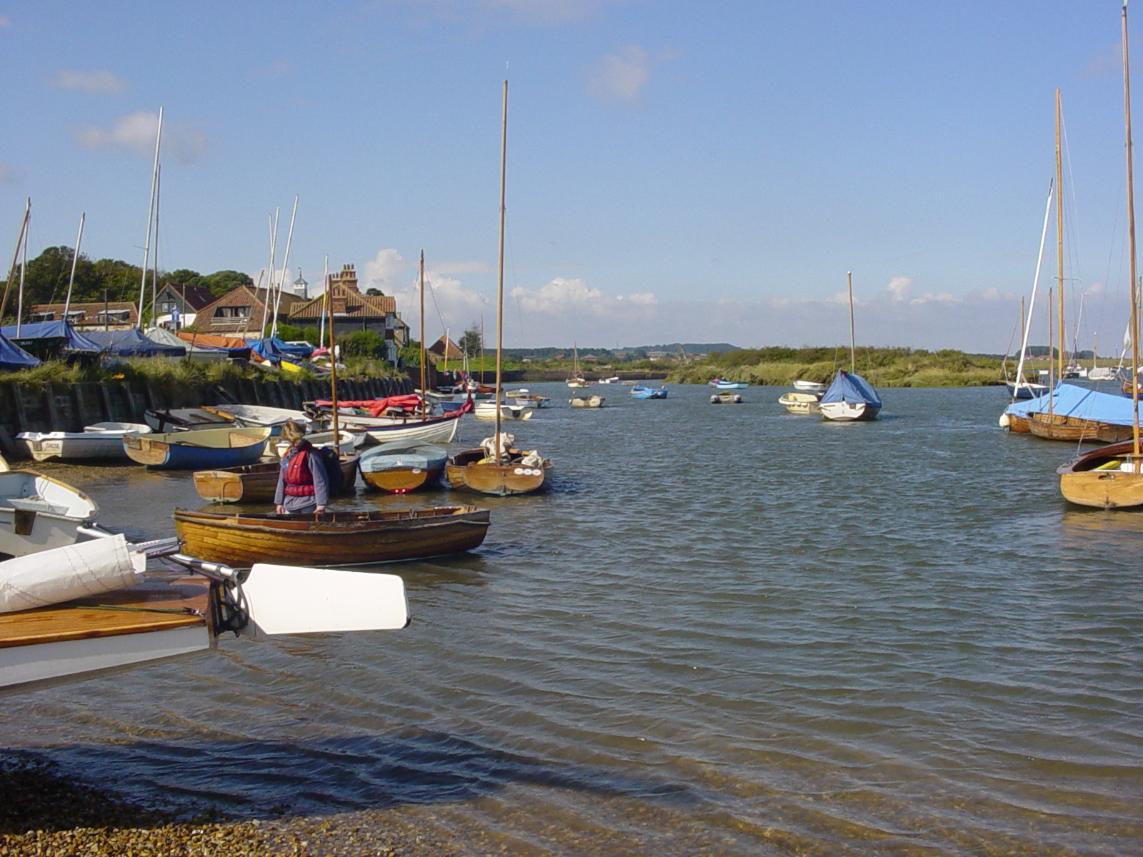 High tide from the Staithe