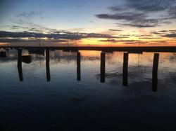 Sunset on the Staithe